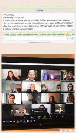 Online teamconnectie
